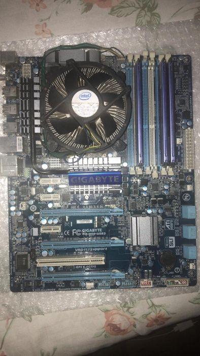 Board chip e memória i7 primeira geração