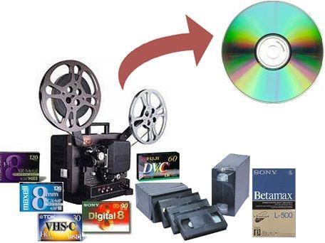 Transfer de pe diferite casete analogice pe suport digital
