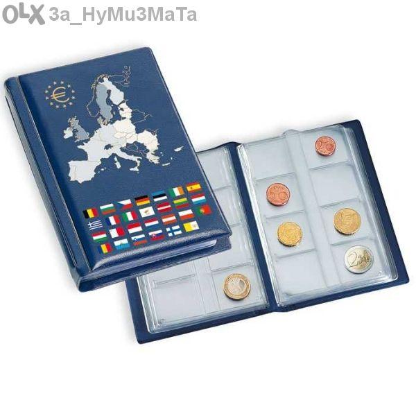 Класьори Numis Euro за 96 монети - Leuchtturm