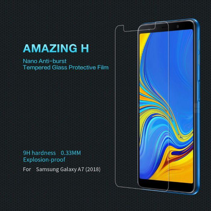 Folie Sticla Securizata / Tempered pt Samsung Galaxy A7 2018 / A7 2017
