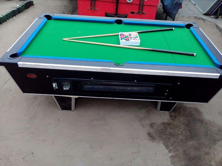 Vendo mesas de Billhar comercial nova com todos Acessorios Maputo - imagem 2