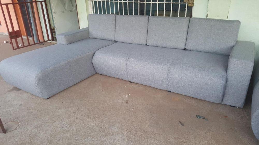 Sofá em modelo L