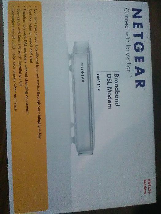 Router Netgear DM111P-100ISS ADSL2+ FULL BOX NOU! OFERTA!