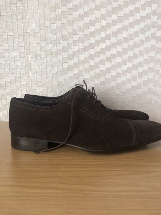 Замшевые туфли Patrick Hellmann