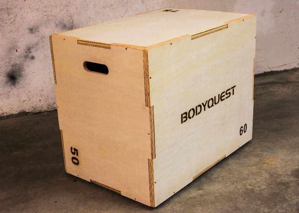 Дървена кутия за скачане за кросфит CrossFit тренировки Jump Box