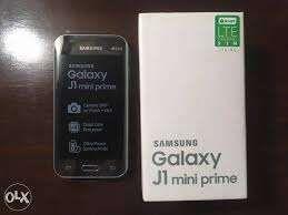 Samsung Galaxy J1 Mini Prime na caixa