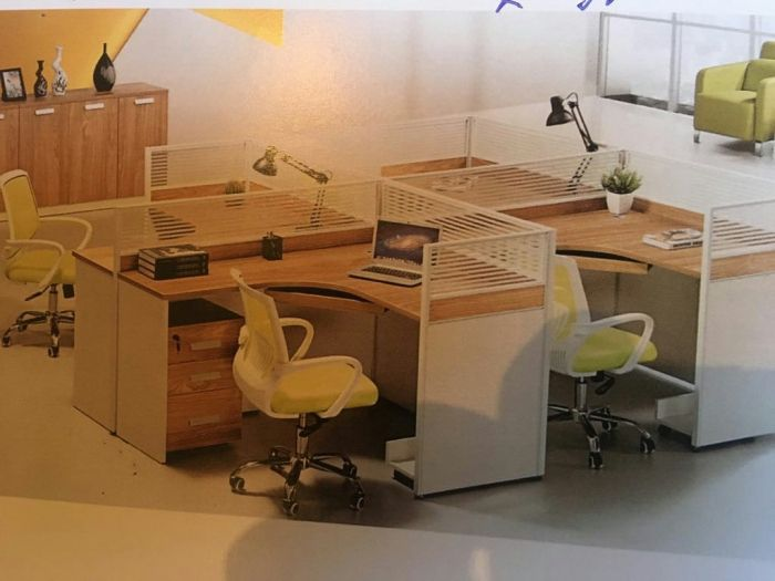 Ilha de 4 posto de trabalho.produtos novo na caixa.direto entrega