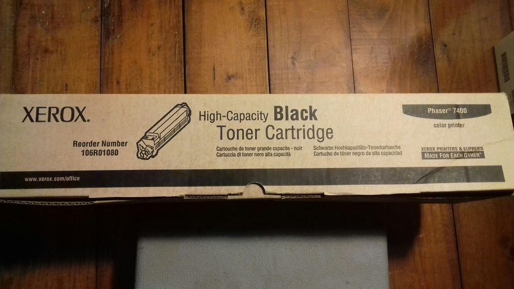 Xerox toner cartridge black Phaser 7400