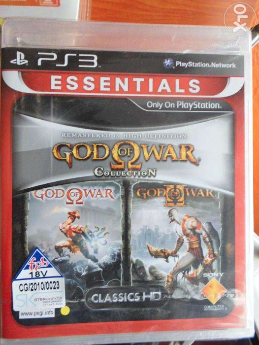 God of War collection para Play Station 3