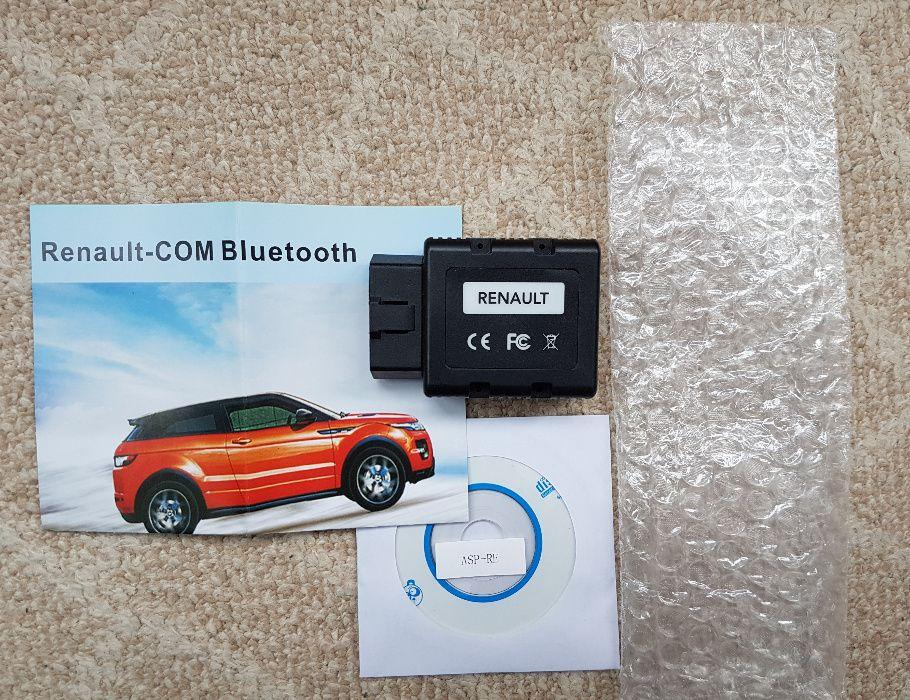 Tester Auto Renault - COM , nivel reprezentanta, inlocuitor Can Clip