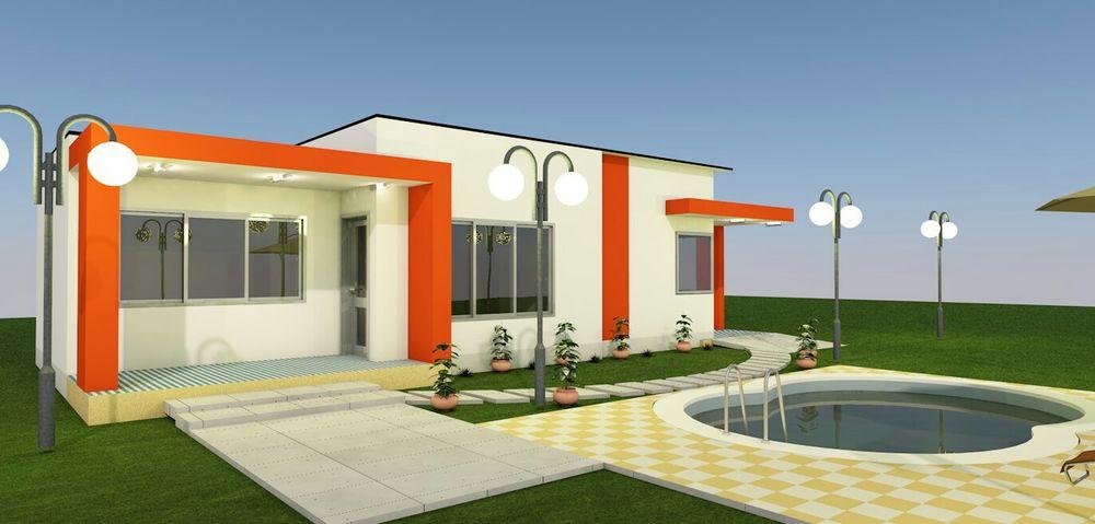 Projetos de uma moradia t2
