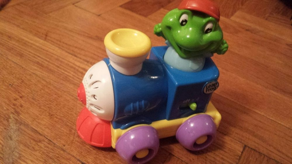 Trenulet muzical Leap frog