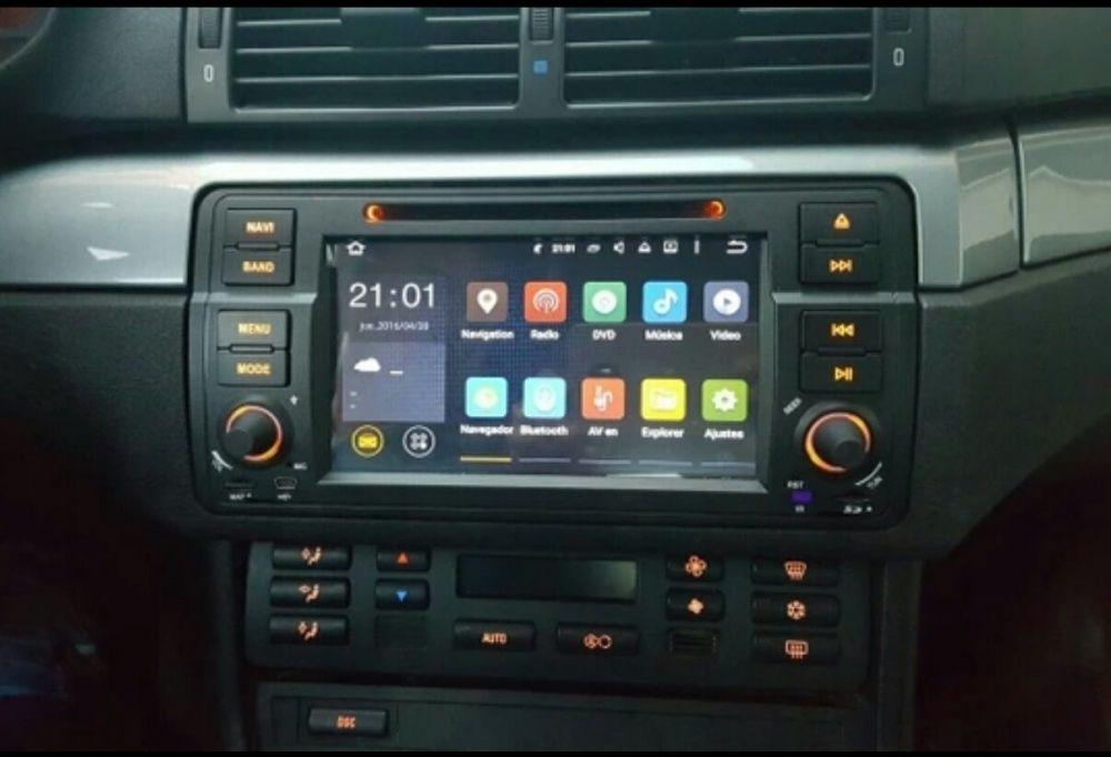 СУПЕР ЦЕНА ! Мултимедия ANDROID 7.1 / 8.1 за BMW E46 E39 X5 НОВА !