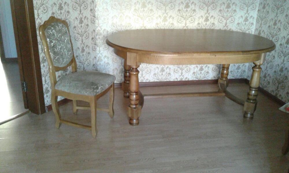Продам стол с 6 стульями. Белорусская мебель