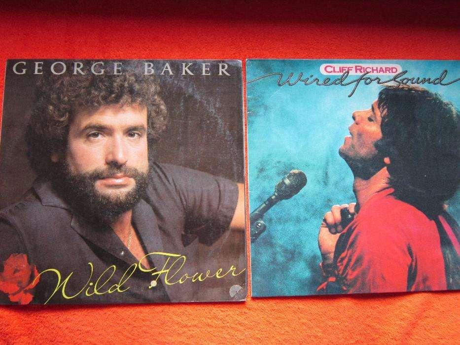 "vinil George Baker-""Wild Flower"" si Cliff Richard-""Wired For Sound"""