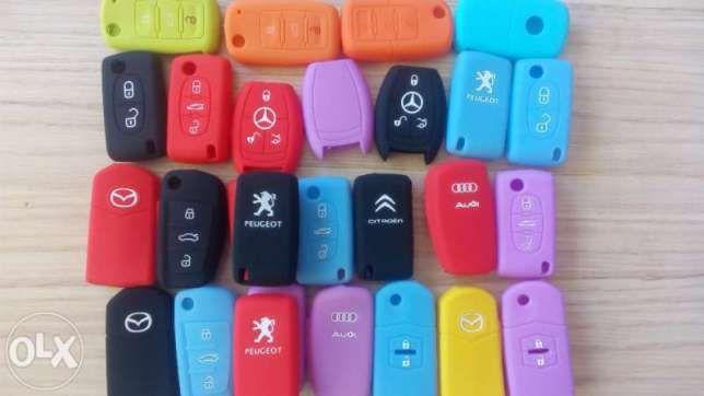 Силиконов калъф за кутийка-ключ на Vw,Audi,Seat,Skoda,Mercedes,Mazda
