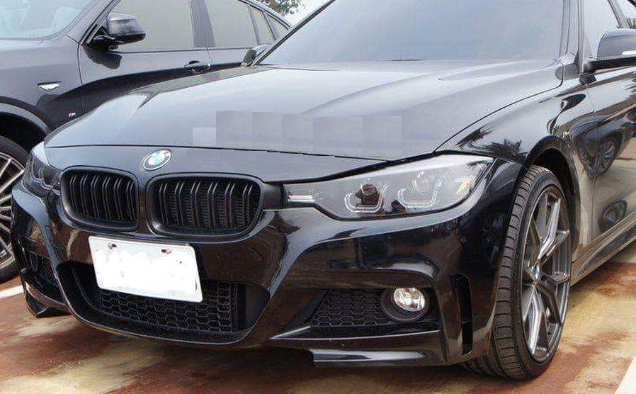 Grile BMW F30 F31 M3 M4 look - finisaj negru mat Timisoara - imagine 4