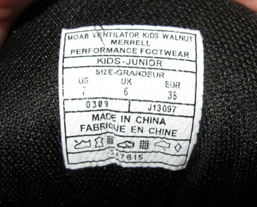 Pantof MERRELL Moab Ventilator - marime 38 Oradea - imagine 4
