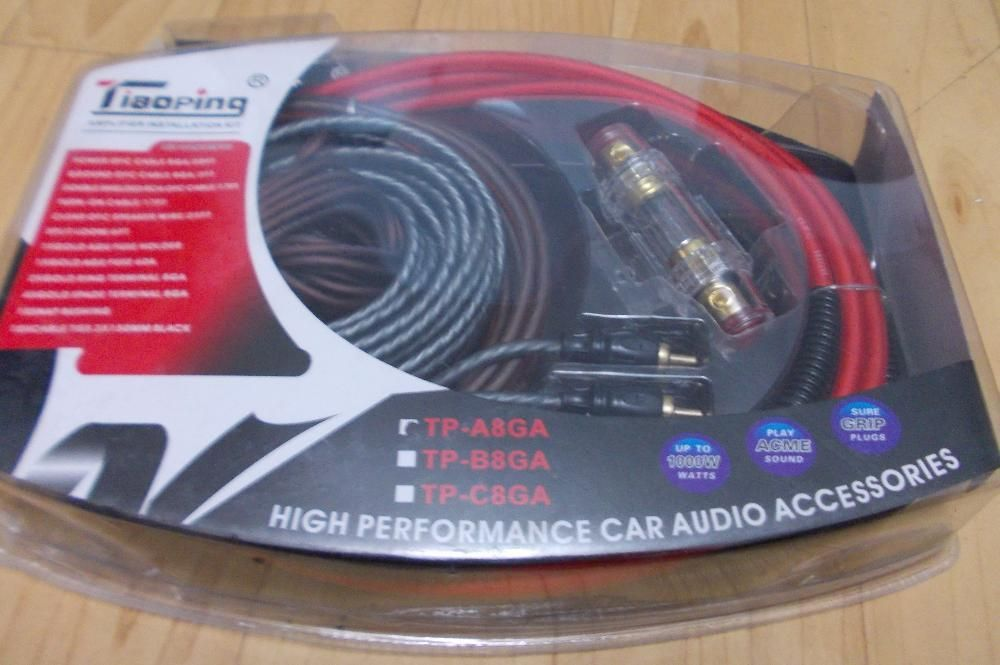 Kit Cabluri Amplificator si Subwoofer Auto