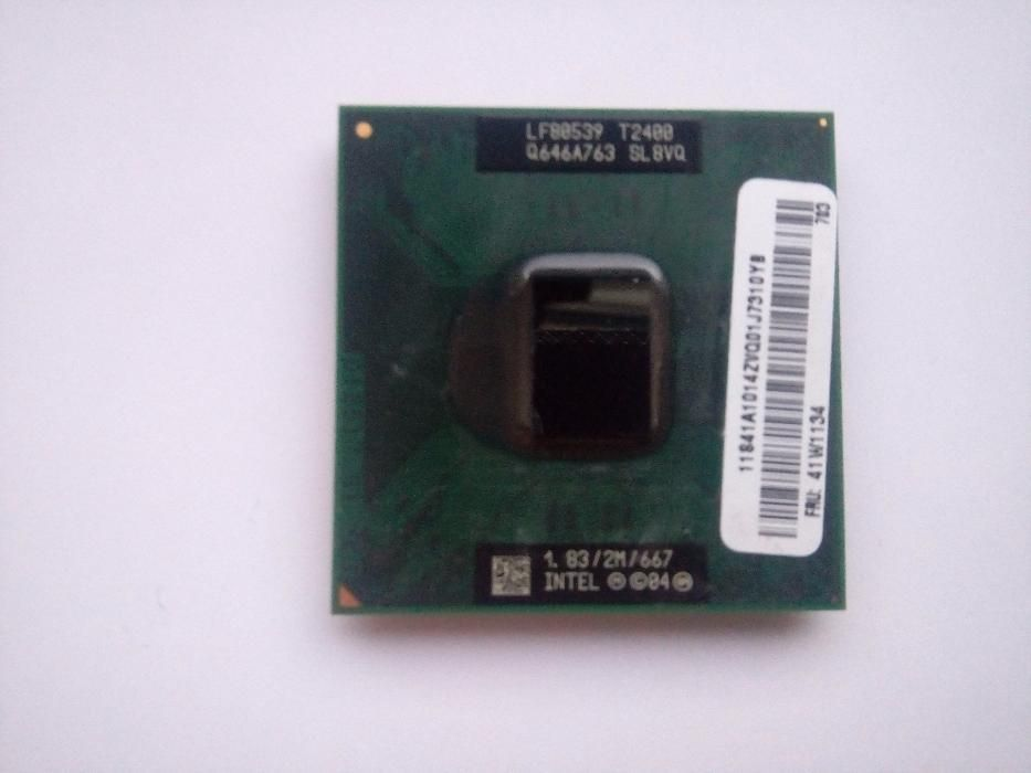procesor laptop intel T2400 dual core 1.83 GHz socket M