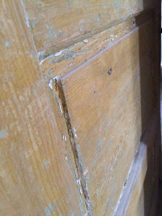 3 usi interior cu tocuri, pervazuri, etc. - lemn masiv 50 ani vechime Husi - imagine 5