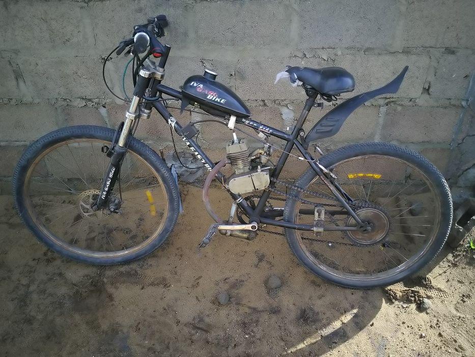 Gaso bike. Bicicleta a motor