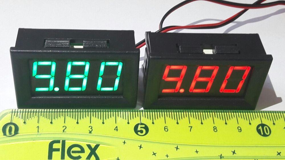 Цифрови LED волтметри
