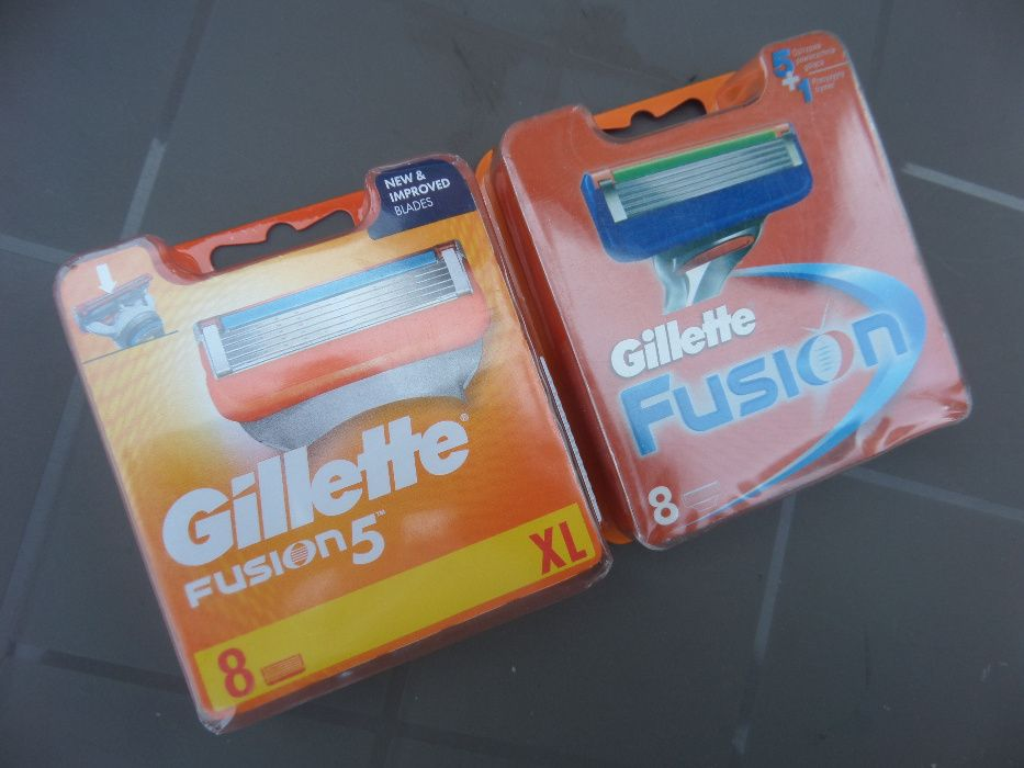 rezerve de ras gillette fusion power, set 8 buc. originale, sigilate