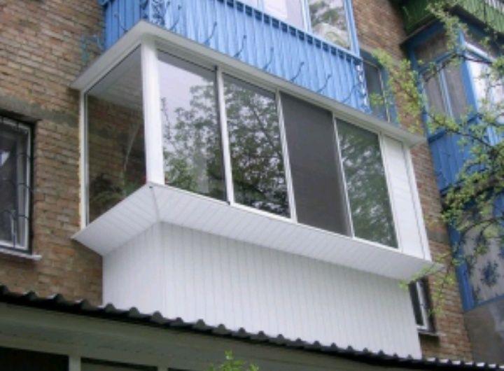 пластиковых окна и балконы