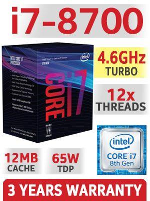 Procesor gaming i7 8700 sigilat , eventual placa de baza, sau ram ddr