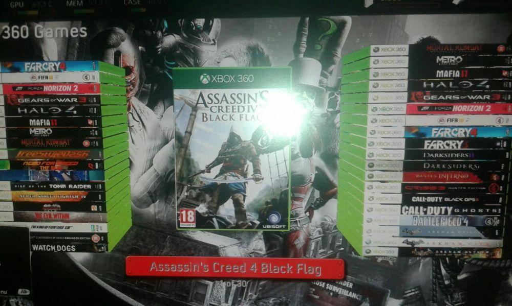 Xbox 360 slim crekada com 30 jogos