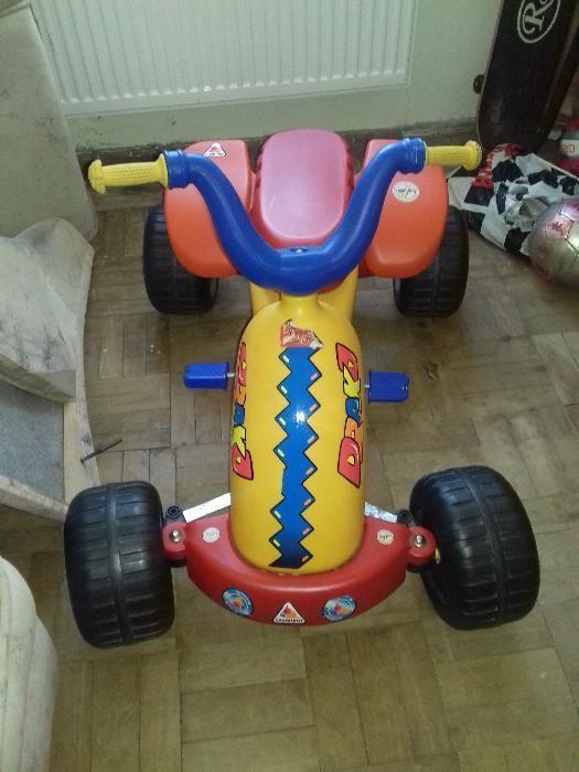 ATV (kart) pentru copii, cu pedale