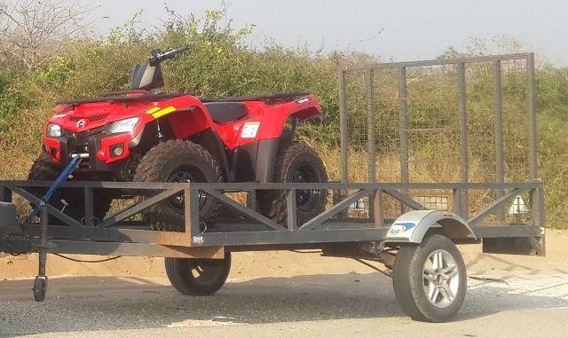 Atrelado, Berço carga , motos, Buggys etc.