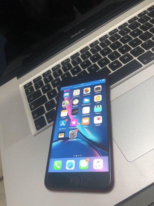iPhone 8 plus com 64gigas vermelho telemóvel em ótimas condições de c Malhangalene - imagem 3