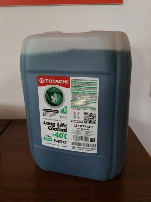 Антифриз Totachi NIRO™ LONG LIFE COOLANT 10 литров(красный и зеленый)