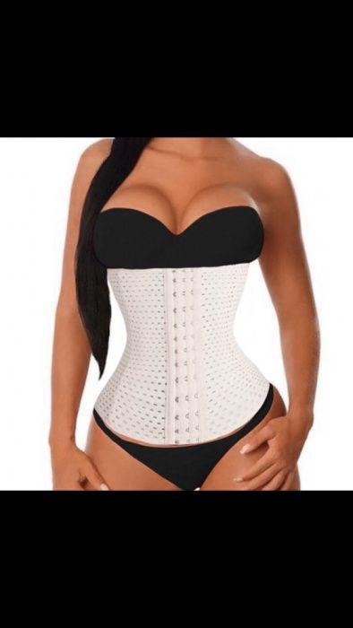 Centura slabit modelatoare burtiera micsoreaza talia corset crem bej Bucuresti - imagine 1