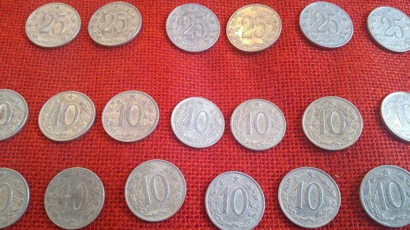 Чешки монети, 51 броя, емисии от 1962г. до 1969г., много запазени гр. Варна - image 3