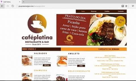 Website e Software de Vendas e Stock
