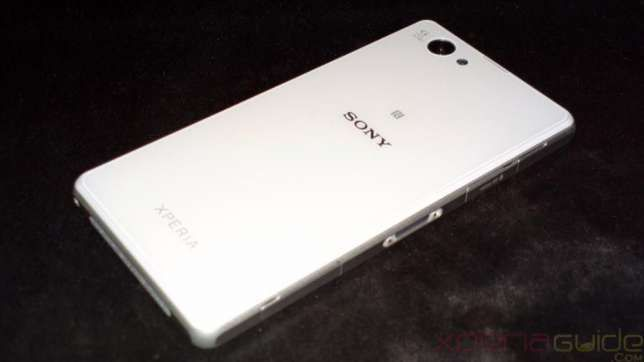 SONY XPERIA Z1 compact white , alb, display crapat
