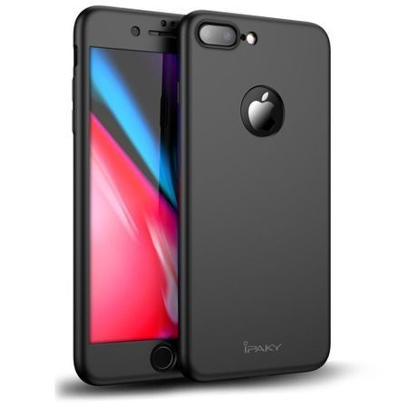 Husa ORIGINALA iPaky Ultra Slim 360 Grade iPhone 8 8Plus +Folie sticla