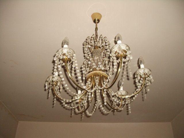 vand / schimnb lampa cristal Bohemia