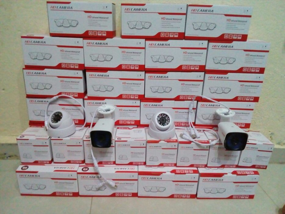 Cameras de Vigilancia AHD-CCTV/CFTV 1Mp
