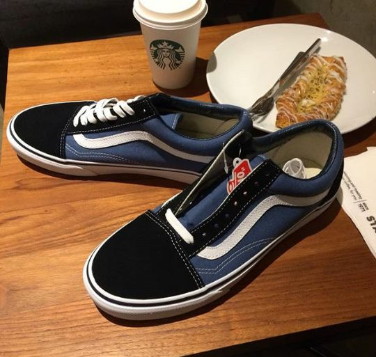 Vans Old Skool Blue & Black