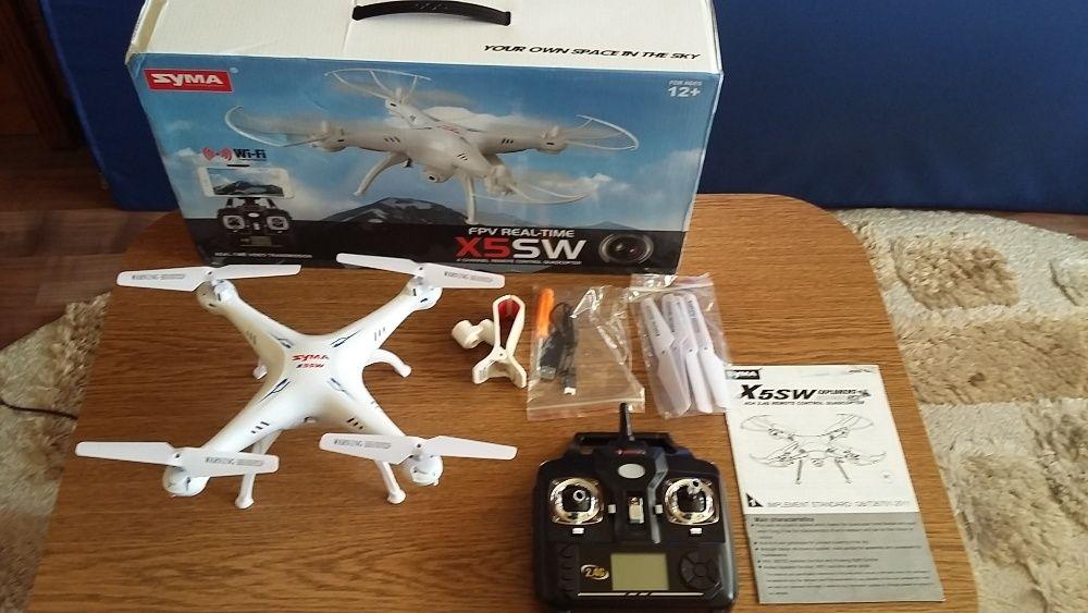 Drona Syma X5SW-1 WIFI transmisie telefon,Baterie 1400MhA