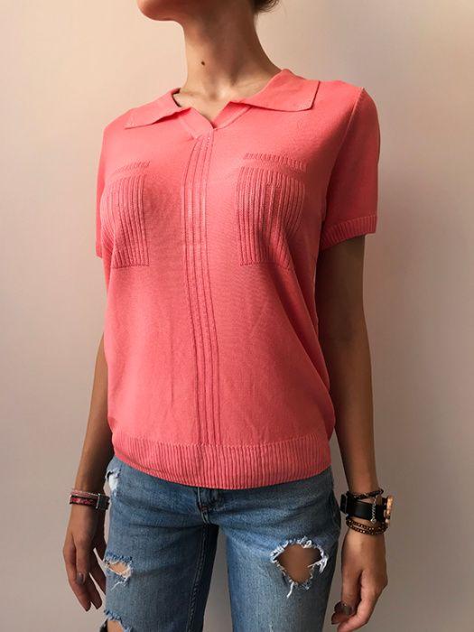 Tricou dama tricotat retro, diverse culori