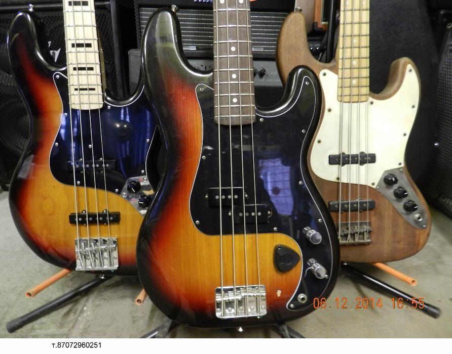 аренда бас-гитар от 3000тг в сутки (продажа) 71