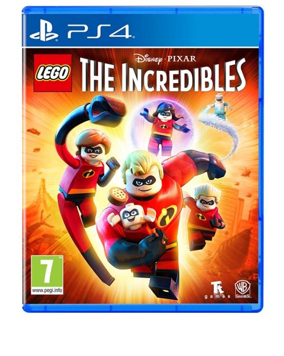 !!! чисто нова LEGO The Incredibles за PS4, Playstation 4