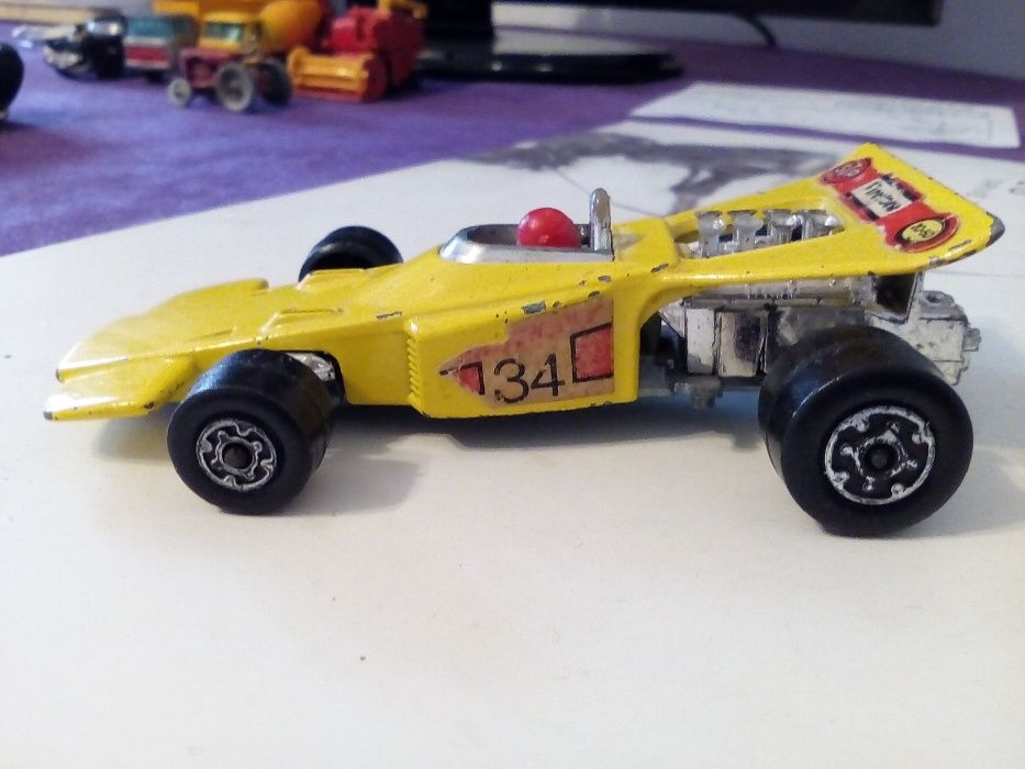 Matchbox Lesney Speed Kings THUNDERCLAP. Racing Car-1971