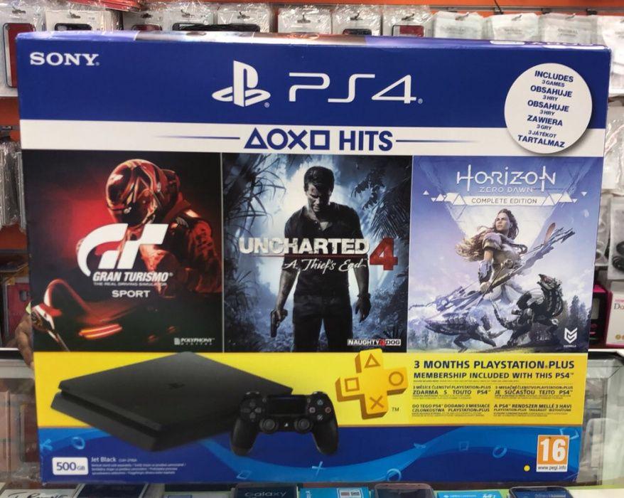 Oferta de especial Ps4 500GB selados com oferta de três jogos