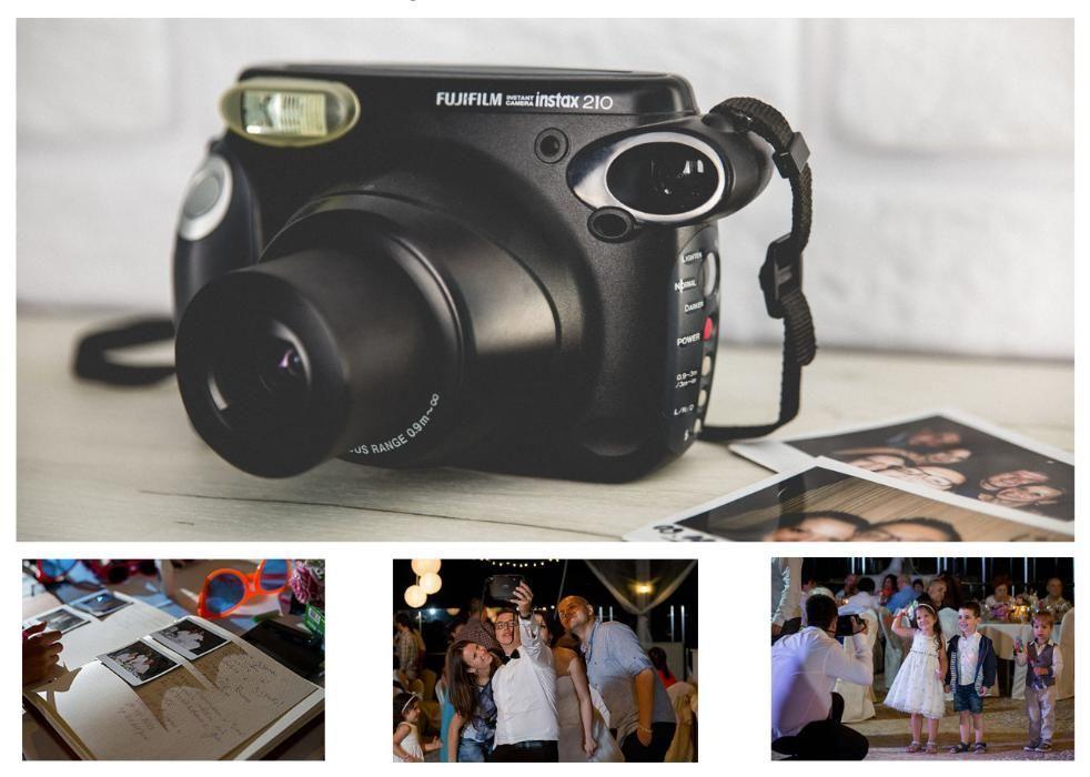 ПОД НАЕМ Fujifilm Instax 210 ФОТОАПАРАТ Камера Polaroid